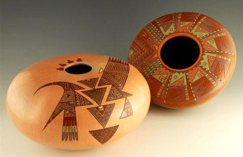 Nathan Begaye Melon Bowls
