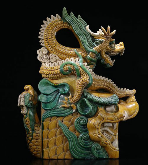 Dragon Roof Tile