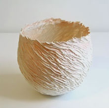 Jane Reumert textured porcelain cup