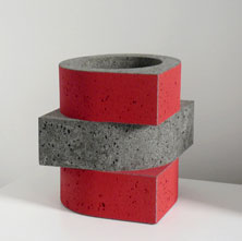 Wim Borst ceramic sculpture - Netherlands