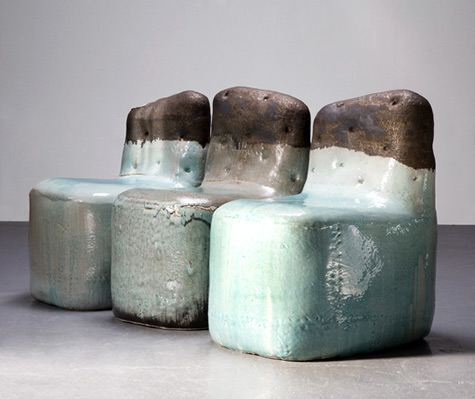 Exceptionnel CEramic Chairs Hun Chung Lee