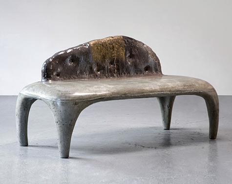Ceramic couch Hun-Chung Lee