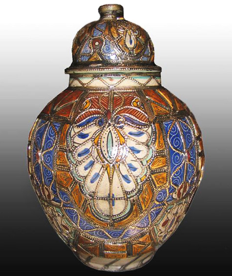 Safi, lidded jar