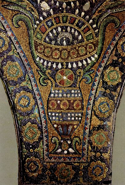 Byzantine mosaic crown