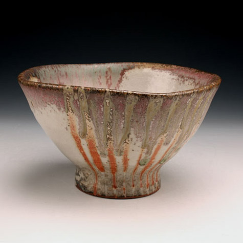 Shino bowl by Matthew-Hyleck