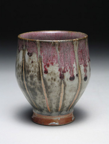 Tall yunomi vessel by Matthew-Hyleck