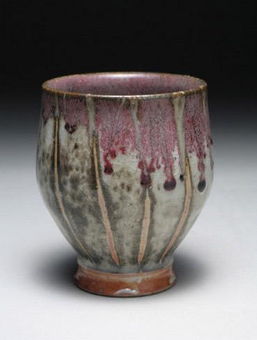 Tall yunomi vessel by Matthew-Hyleck