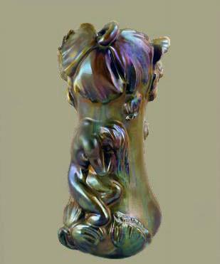 Rambervillers Art Nouveau vase