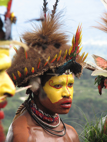New Guinea Face Paint