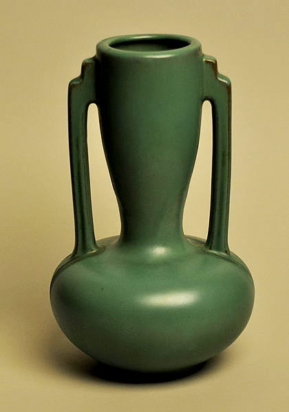 Catalina art nouveau vase- twin handled
