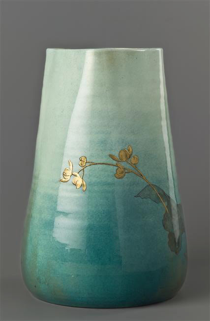 French ceramique vase by Clement Massier