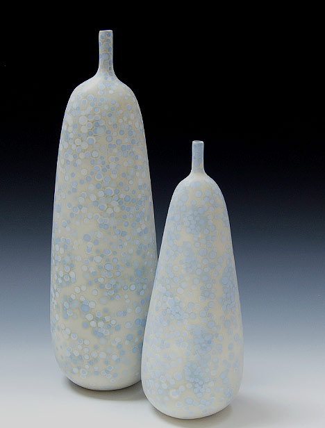 Liza Riddle Ceramic Bottles