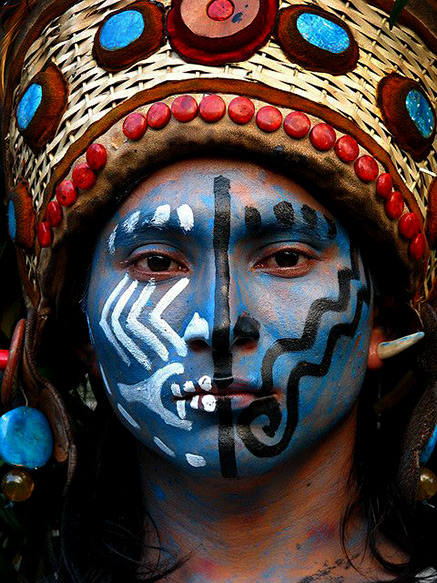 Mayan-Face-by-avilo-on-Flickr