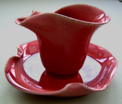 Clement Massier Cup and Saucer