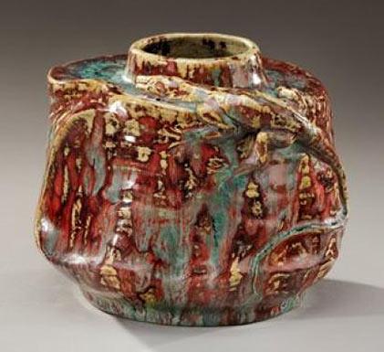 PIERRE ADRIEN DALPAYRAT ceramic vase