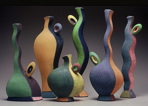 Michael Sherrill ceramic Vessels