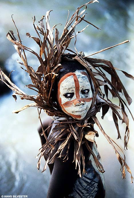 Face Painting Art Omo Valley, Southern Ethiopia