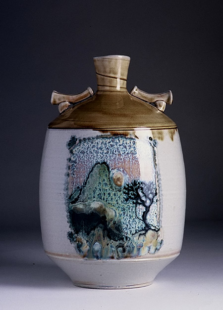 Michael Sherrill lidded vessel