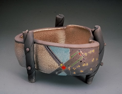 Michael Sherrill pottery vessel