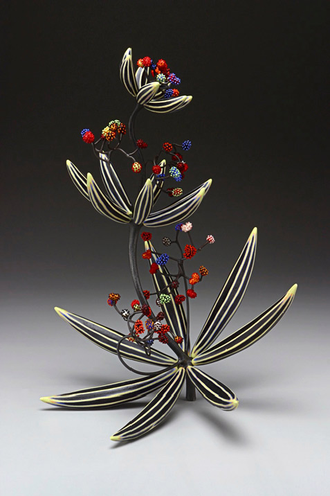 NC Michael Sherrill ceramic floral arts