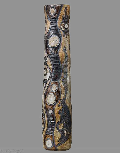 Ceramic Totem Pole by Thanakupi