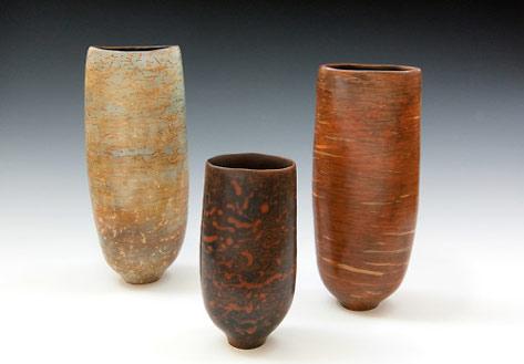 Liza Riddle 3 Vases