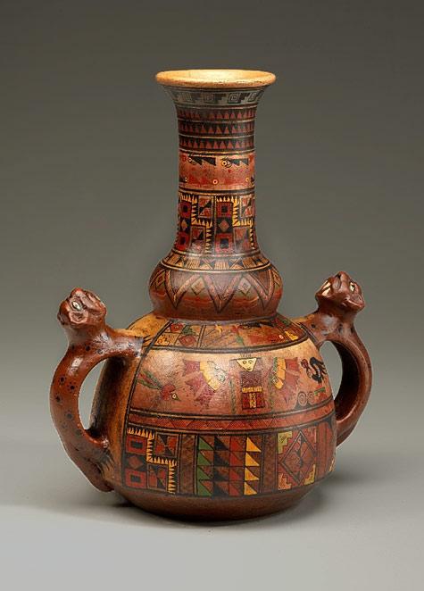 Ceremonial Inca vessel
