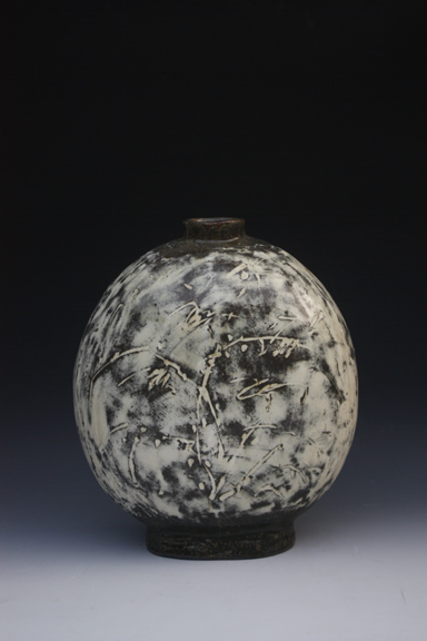 Lee Kang Hyo ceramic bottle