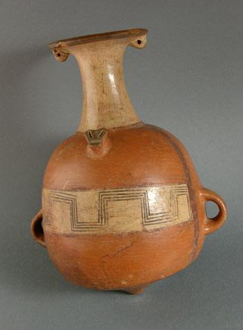 Arabalo-Incan-pot with twin lugs