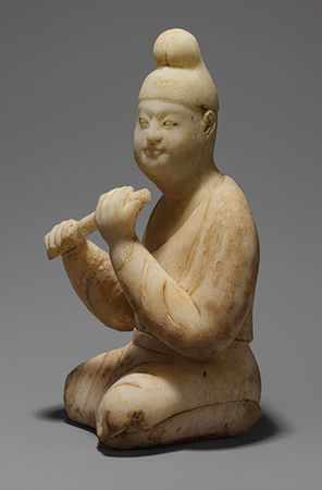 Tang Dynasty seated musician