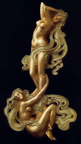Art Nouveau jewellry by Rene Lalique