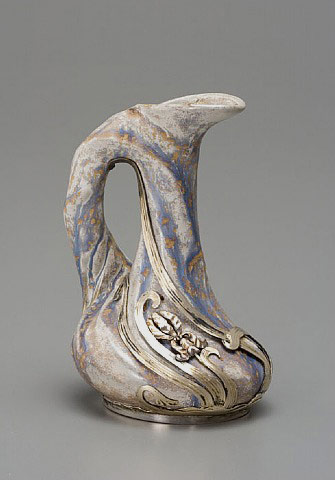 French Art Nouveau pitcher - Lucien Gaillard
