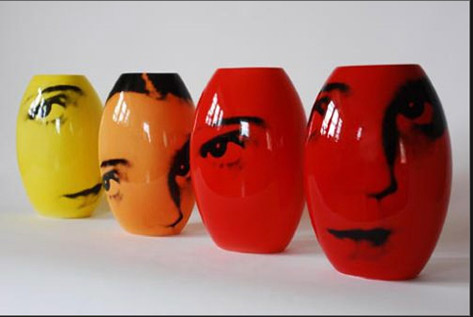 Four Vases - Catherine Gray