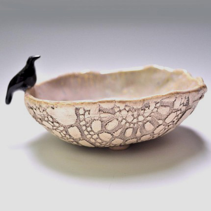 Raven Watch dish from One Clay Bead