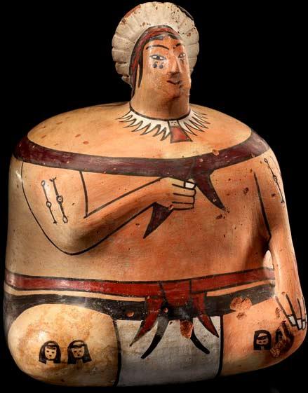 Ica-effigy-vessel-AD-1400s-Nasca-Region,-Peru