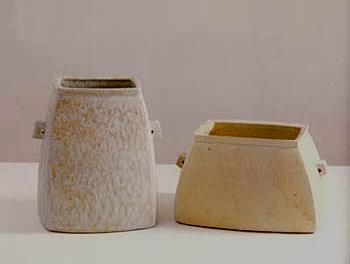 Kim Ik-Yeong pottery vases