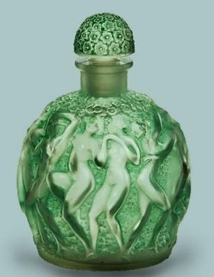 Rene Lalique perfum bottle Leze i Pachne