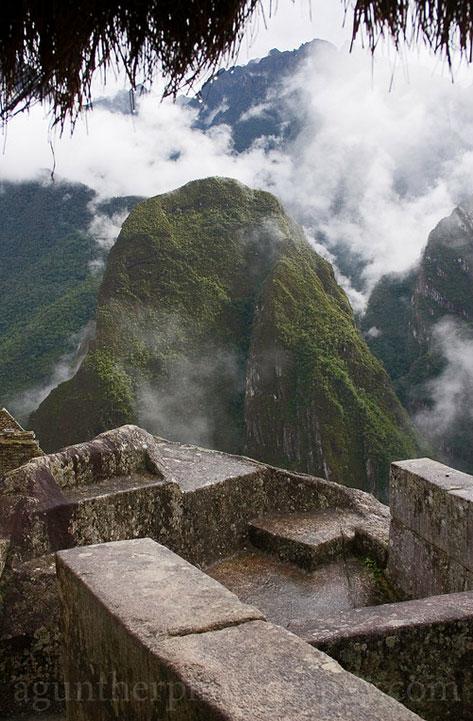 Temple bathhouse at Machu Picchu - photo Andre Gunther