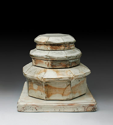 My House - ceramic sculpture by lee Kang Hyo