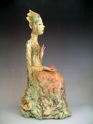 Pat Swyler Serenity 3 sculpture