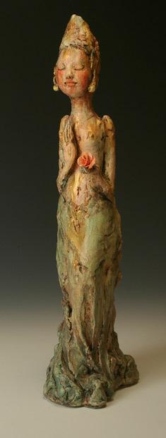 boddhisatva sculpture - Pat Swyler