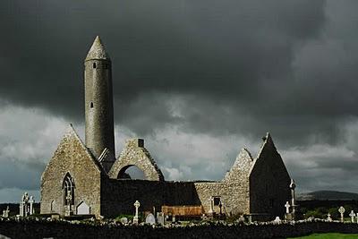 ruins of Kilmacduagh Monastery