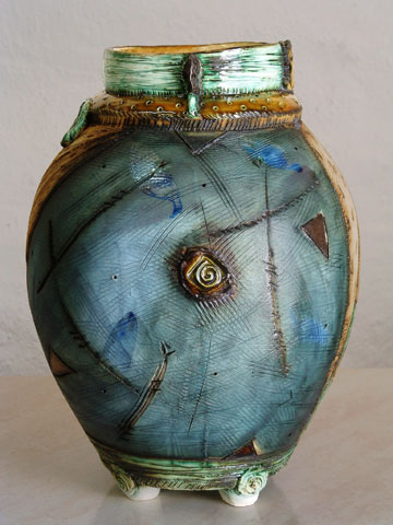 South African Charmaine Haines vase