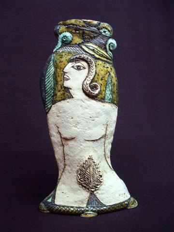 Charmaine Haines naked lady vase