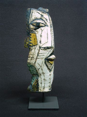 Charmaine Haines ceramic sculpture