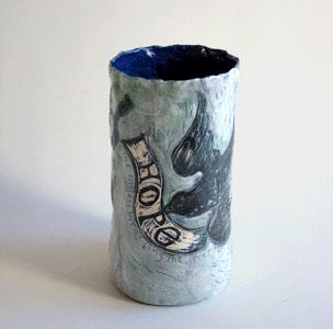 Gerry-Wedd vase