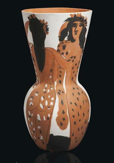 Grand vase aux femmes voilées - Pablo Picasso