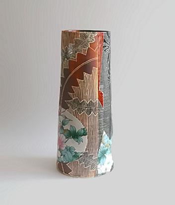 Janet-DeBoos Australian pottery vase