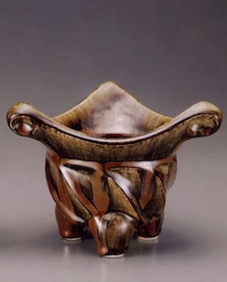 Kanjiro Kawai ceramic vessel