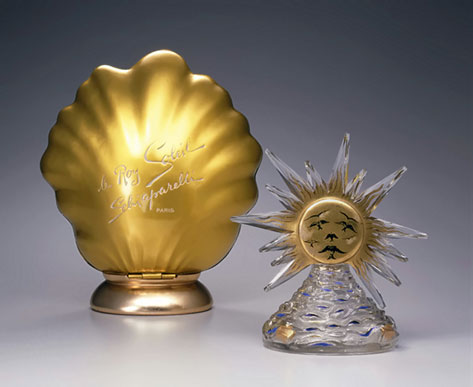 Glass Perfume bottle by Salavador Dali